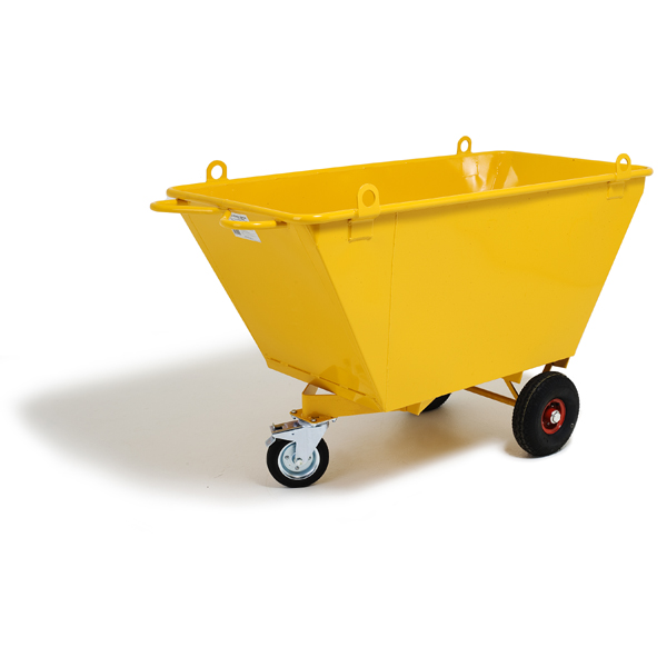BULK BARROW 500 L w LIFTING LUGS