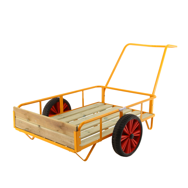 Package Trolley w assembled gable
