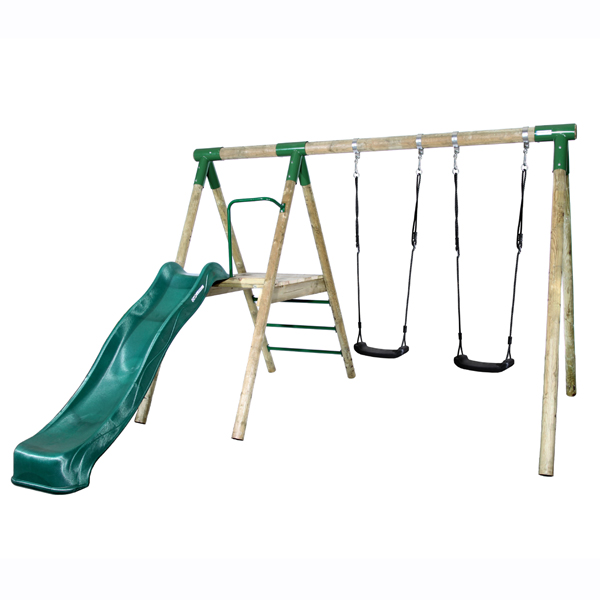 WOODEN SWING ACTIVE SLIDE