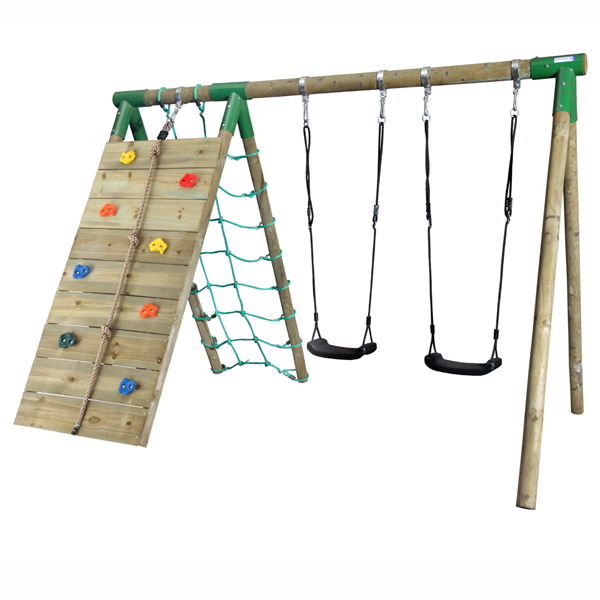 WOODEN SWING ACTIVE CLIMB